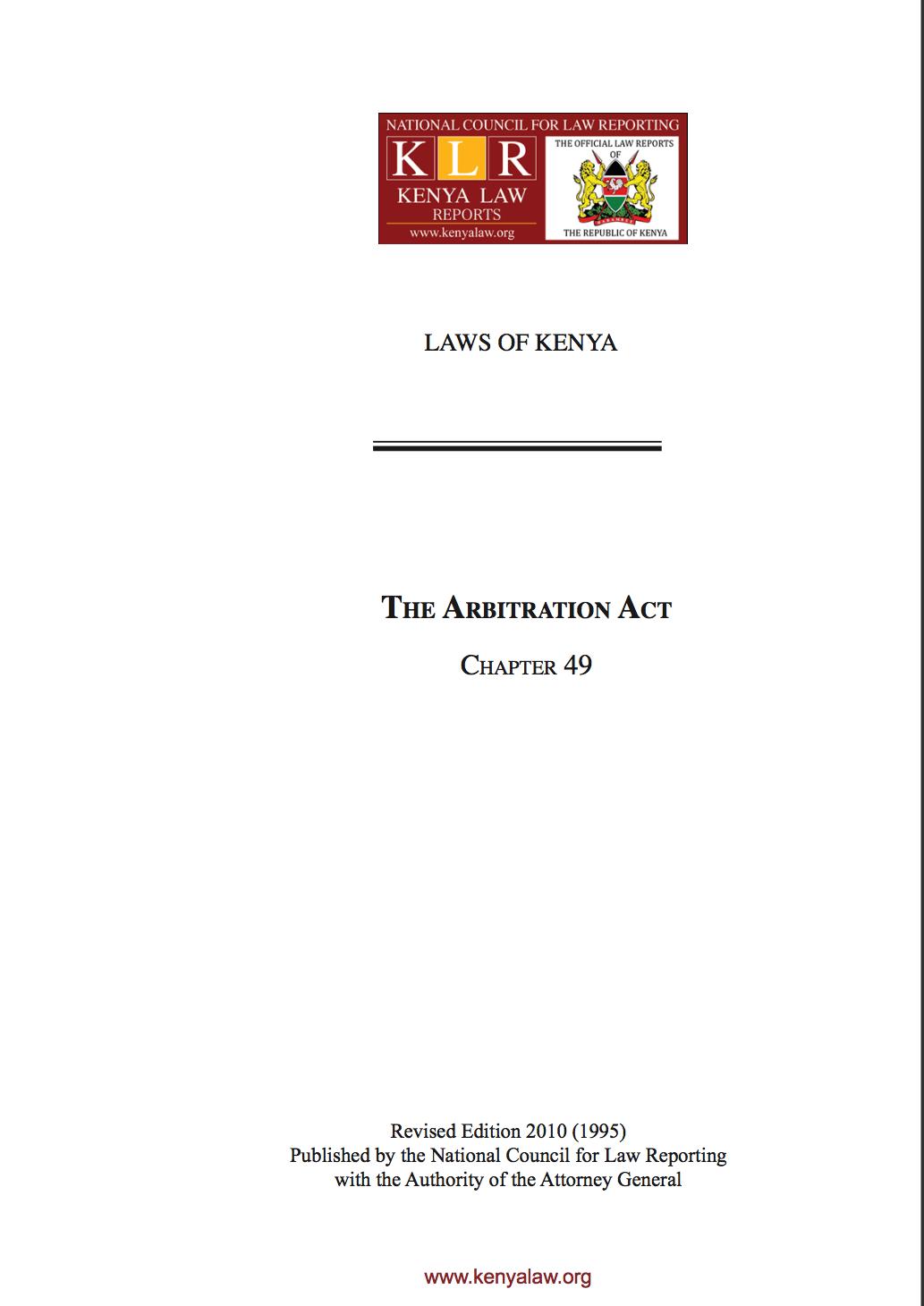 arbitrationactcap49